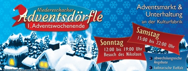 Niedereschacher Adventsdörfle 2017